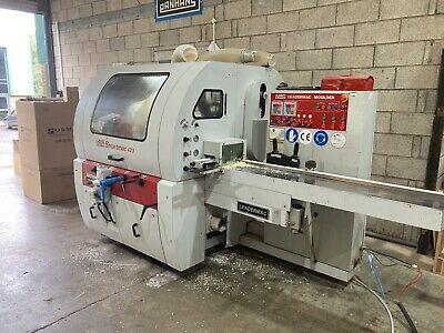 Leadermac Smartmac 423 Planer Moulded Will Take Weinig Cutters • 12,000£