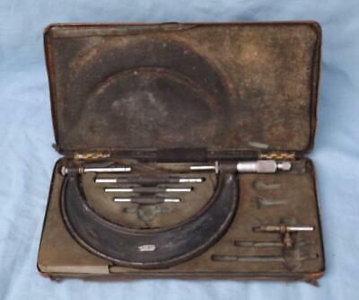 Boxed Mitutoyo O/s Micrometer  No 942 2  - 6  • 20£