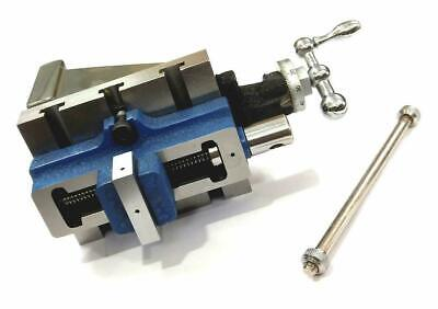 Fixed Vertical Milling Slide 4  X 5  With 2  Self Centering Vice & Fixing T-nuts • 115.99£
