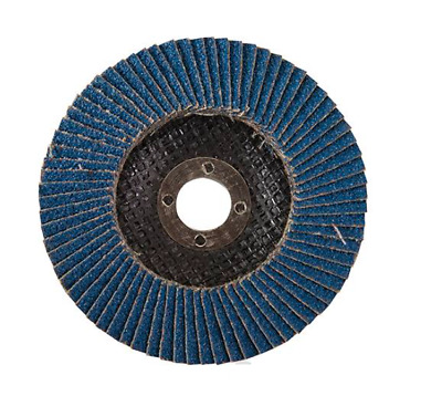 Zirconium Flap Disc 115mm - 4.1/2  Sanding Trade Quality 40/ 60/ 80/ 120 Grits  • 10.75£
