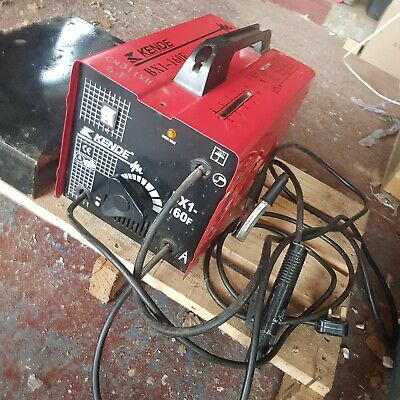 Kende 160amp Arc Stick Welder 230v.Plus HUGE SELECTION OF ELECTRODES • 125£