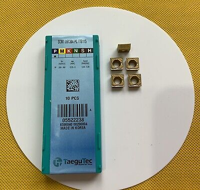 Scmt09t304-pc-tt8115,carbide Milling And Turning Inserts New 5pcs. • 12£