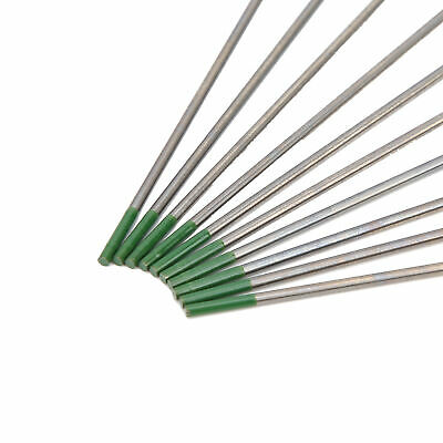 10Pc WP Rod Tungsten Electrode Arc Needle For Welding Thin Aluminum Steel 1.6mm • 8.19£