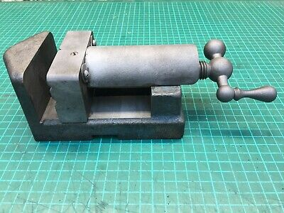 Vintage Bench Pillar Drill Clamp Vice Lathe Milling Engineering • 39£
