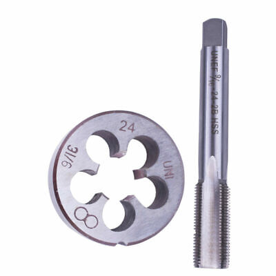 Metalworking 9/16-24 (9/16x24) TPI Tap Die Mold Kit HSS Right Hand Tools Replace • 11.13£