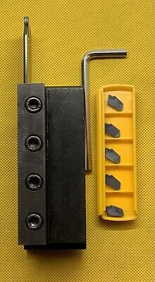 PARTING-OFF SYSTEM LGE-Parting,turning,grooving.25-32-3.supplied With 6 Inserts. • 55£