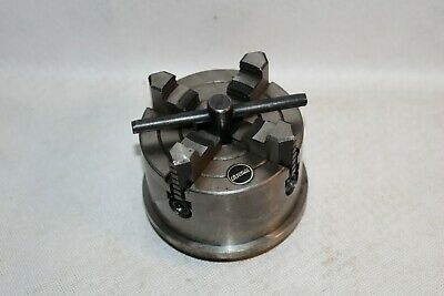 Vintage CHRONOS Four Jaws Independent Lathe Chuck With Backplate • 68£