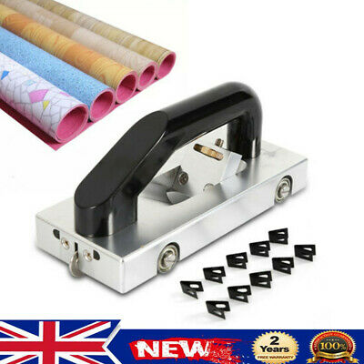 Manual Slotter Grooving Wheeled Groover Slotting Tool For PVC Vinyl Floor UK • 69£