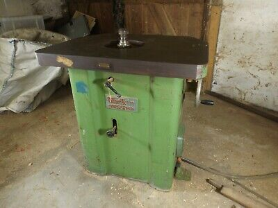 Wadkins Bursgreen Spindlemoulder 3phase No Fence / Cutting Head Spares Or Repair • 103£