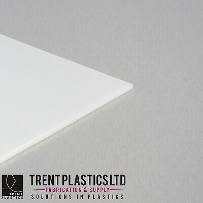 Natural ACETAL Sheet White Copolymer Delrin Plate MANY Sizes • 34.33£