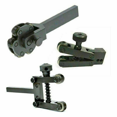 Knurling Tools Combo Combination Of Knurling Tools 6 Inches 2 Inches And V Clamp • 75£