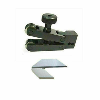 V Clamp Knurling Tool 5 To 20 Mm With Center Square 1.5 Inches Made From Ground • 43£