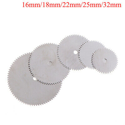 10Pcs/set Stainless Steel Slice Metal Cutting Disc Rotary Tools 16 18 22 ZC • 4.27£