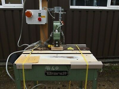 Edge Milling Machine, Double Spindle, • 200£