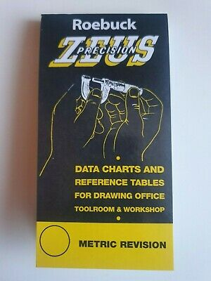 Zeus Precision Engineers Metric Data Book Chart Charts Reference Sizes Tables • 4.90£