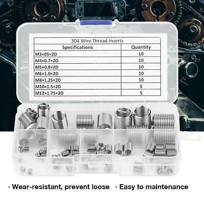 Inserts Nuts 60x 60pcs M3-M12 Stainless Steel Screw Thread High Quality • 8.12£