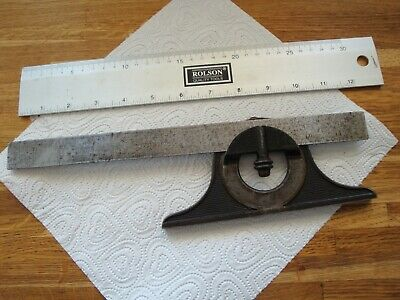 Vintage  Protractor Angle Gauge Patent Aug 7 1883 • 25£