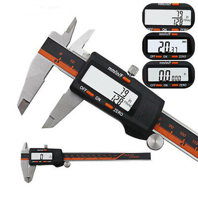 LCD Display Caliper Stainless Steel Electronic Digital Micrometer Useful • 22.02£