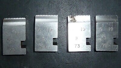 .6 X19 Coventry Die Chasers For 3/4  Diehead Alfred Herbert Type B • 13.99£
