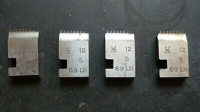 1/2 X12 LH Coventry Die Chasers For 3/4  Diehead Alfred Herbert Type S LEFT HAND • 20£