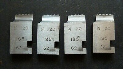1/4 X20 Coventry Die Chasers For 3/4  Diehead Alfred Herbert Type IS5 • 13.99£