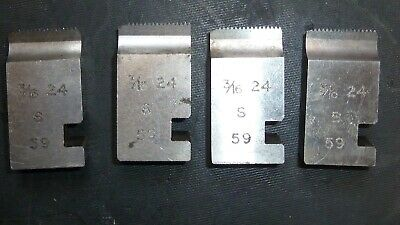 3/16 X24 Coventry Die Chasers For 3/4  Diehead Alfred Herbert Type S • 13.99£