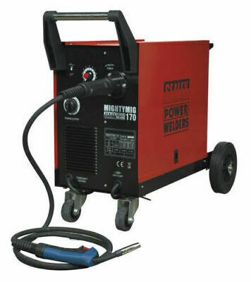 Sealey MIGHTYMIG170 Professional 170Amp MIG Welder With Euro Torch • 340£