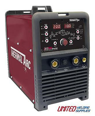 Thermal Arc Arcmaster 202 AC/DC 200 Amp AC/DC HF TIG Inverter Package • 1,272£