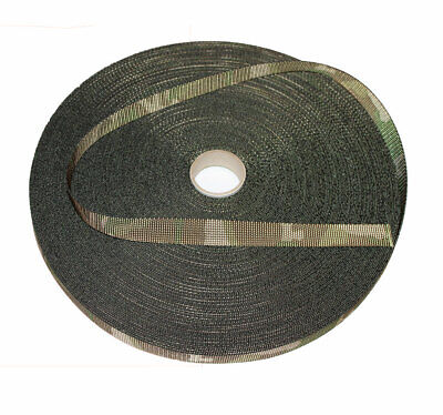 Double Sided MTP /Multicam Camouflage Military Spec 25mm / 1  Webbing - UK Woven • 2£