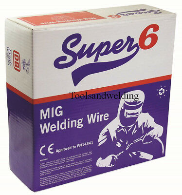 MIG Welding Wire 0.7Kg X 0.6, 0.8 Or 1.0 Mm Compatible With MIG/7K08  • 70£