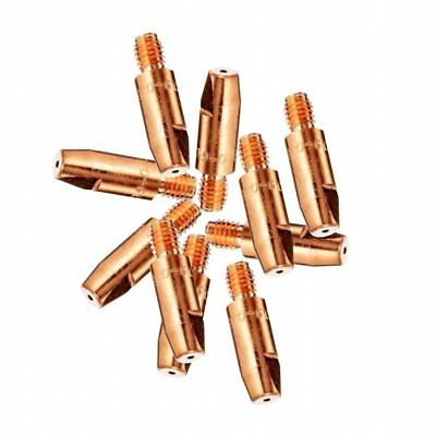 10 X 0.8mm Mig Euro Torch Contact Tips For MB15 MB25 MB36 Welding 10 Pack • 3£