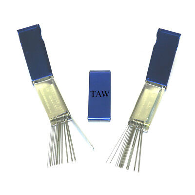 3 X Gas Burning Cutting Nozzle Tip Cleaners Cleaning Files In Metal Case (A41) • 4.50£