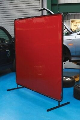 Thick Vinyl With Filters - Welding Screen Curtain With Frame 1.74 X 1.74m • 129.99£