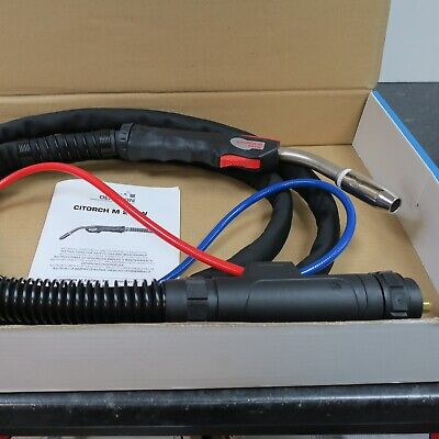 Oerlikon Citorch M 241W X 3 Metre Water Cooled Mig Torch • 75£