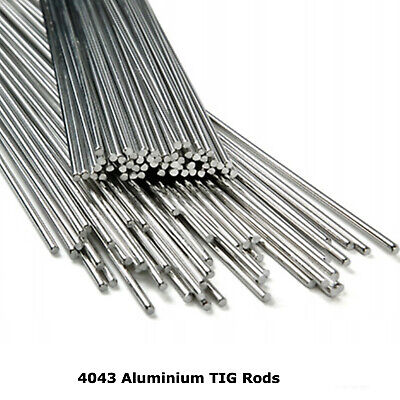 4043 Aluminium TIG Welding Rods Wire Filler 1.6mm 2.4mm 3.2mm 5% Silicone • 16.89£
