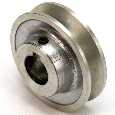 Aluminium V Pulley 1 Groove A / SPA Section 2  - 4  Vee Pulley For V Belt • 22.50£
