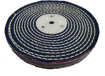 7'' Metal Polishing Cotton Buffing Wheel, Polishing Wheel, Polishing Buffs Mops  • 5.50£