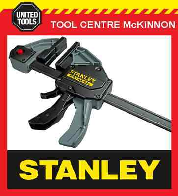 STANLEY FATMAX QUICK-GRIP STYLE XL 300mm ONE HANDED BAR CLAMP – 270kg CAPACITY • 26.97£