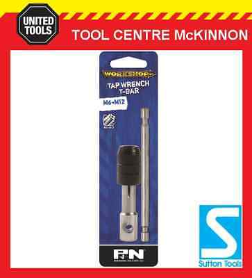 P&n By Sutton Tools Tap Wrench – T Handle Bar Type For M6 – M12 Taps • 14.36£