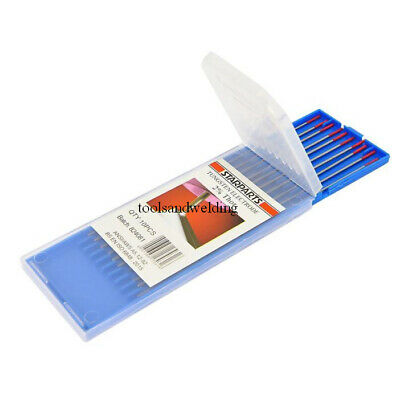 TIG WELDING Tungsten Electrodes, Thoriated Packs OF 10 • 8.50£