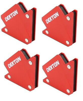 Dekton X4 25lb Welding Magnet Right Angle Square Holder Clamp Soldering New • 11.99£