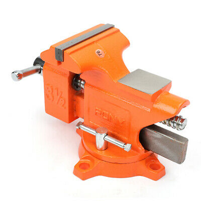 Pony Light-Duty Bench Vise With Swivel Base POJ23530 - FREE SHIPPING • 42.99£