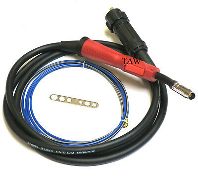 Eco Mig Euro Fitting Welding Welder Torch 15 MIG MB15 With 3 Metres Cable • 37£