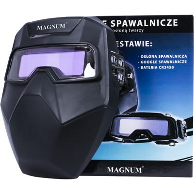 Magnum Automatic Welding Goggles Auto Darkening Mask MMA MIG TIG CR2450 • 49£