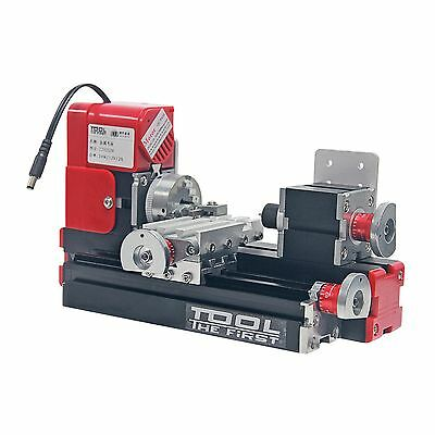 High Quality Motorized Mini Metal Working Lathe Machine DIY Tool For Hobby • 139.99£