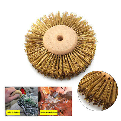 3 Abrasive Copper Wire Grinding Wheel Brush Polishing Brush For Metal Buffing • 5.48£