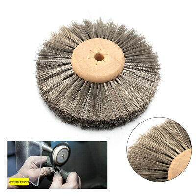 78mm Polishing Brush Stainless Steel Wire Grinding Wheel For Metal Grinding • 5.55£