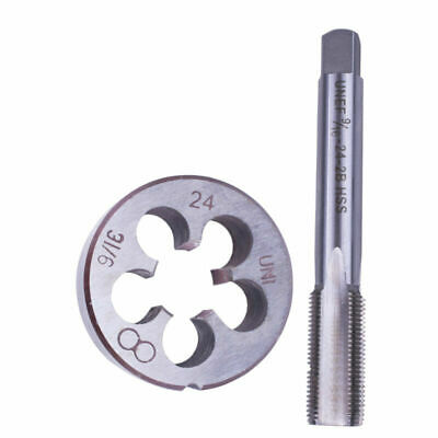 Metalworking 9/16-24 (9/16x24) TPI Tap Die Mold Kit HSS Right Hand Tools Replace • 12.19£