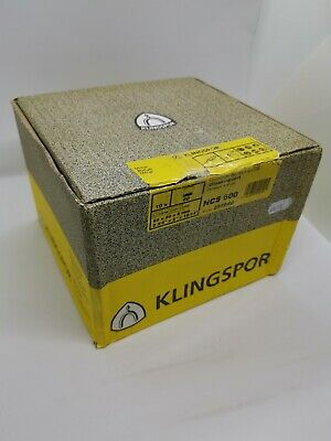 KLINGSPOR 10X Small Abrasive Mop Wheel For Metals NCS 600, 60 GRIT, 60x50x6mm • 39£