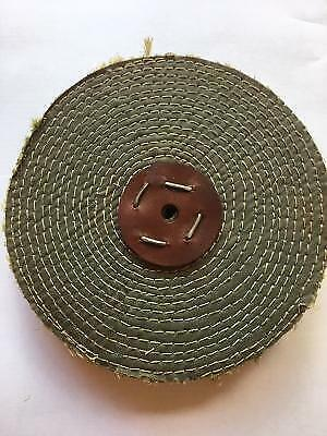 Polishing Mop Superior Sisal 8  X 1  For First Cut On Steel & Stainless UK MADE • 9.75£